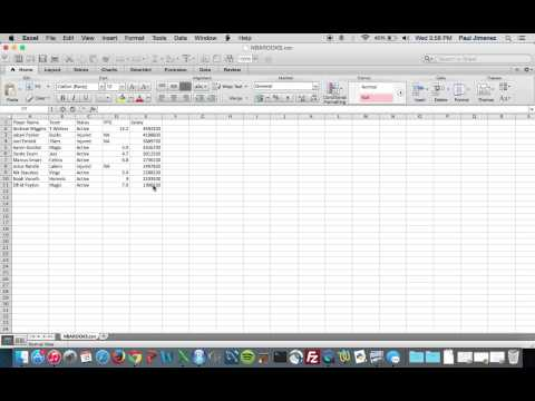 Importing data sets from Excel to R