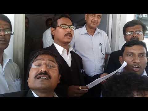 ADVOCATES ASSOCIATION OF INDIA's member in Allahabad Memorandum on Advocates act amendment bill 2017