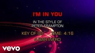 Peter Frampton - I'm In You (Karaoke)