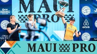 Day 2 Highlights - An Epic Day of Highlights from Honolua Bay