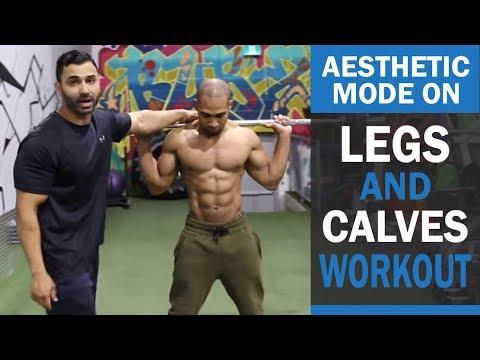 AESTHETIC MODE ON Legs and Calves Workout! DAY 4 (Hindi / Punjabi)
