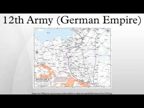 12th Army (German Empire)