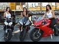 Biker Girls Ride Through Angeles Crest Highway | Redline Ravens