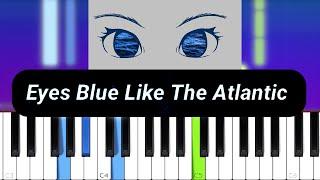 Sista_Prod - Eyes Blue Like The Atlantic (feat. Subvrbs) (Piano tutorial)