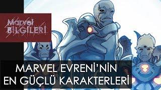 The One Above All'dan Franklin Richards'a Marvel Evreninin En Sağlam karakterleri!