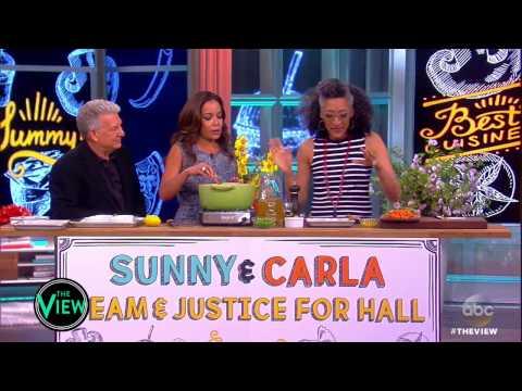 Sunny Hostin & Carla Hall's Vegetable Pot Pie | The View