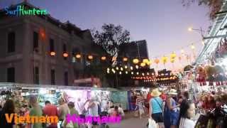 Ночной рынок в Нячанге, Вьетнам