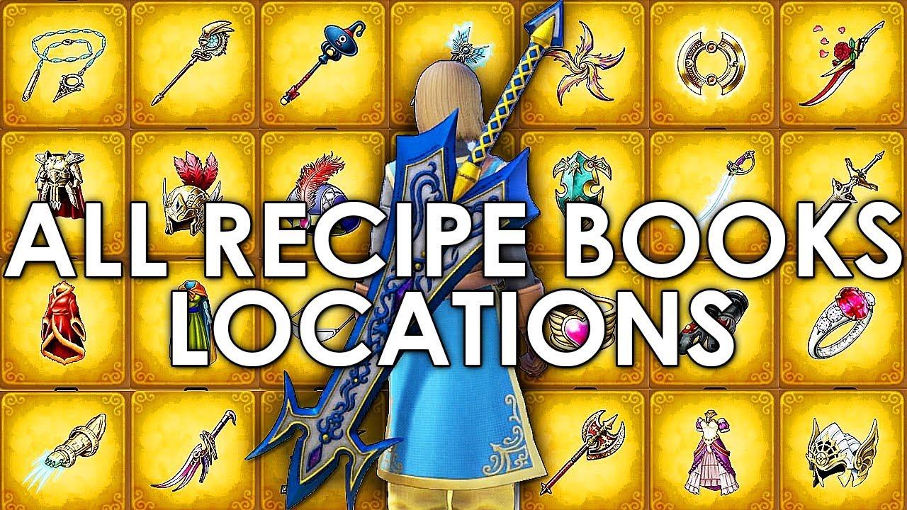 Dragon Quest XI All Recipe Book Locations Full Guide