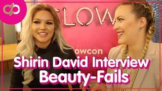 Shirin David Interview: Beauty-Fails & ungeschminkt aus dem Haus gehen - Celepedia GLOW-CON Special