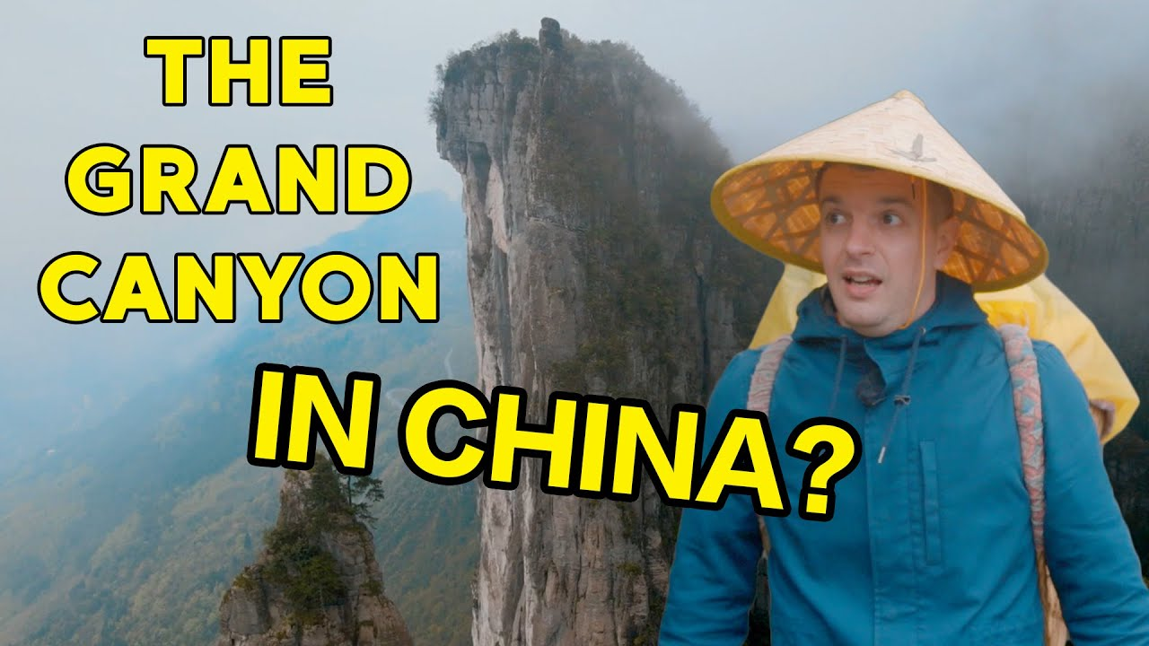 The Grand Canyon in China that You've Never Heard of Before // 中国第一个外国背篓工