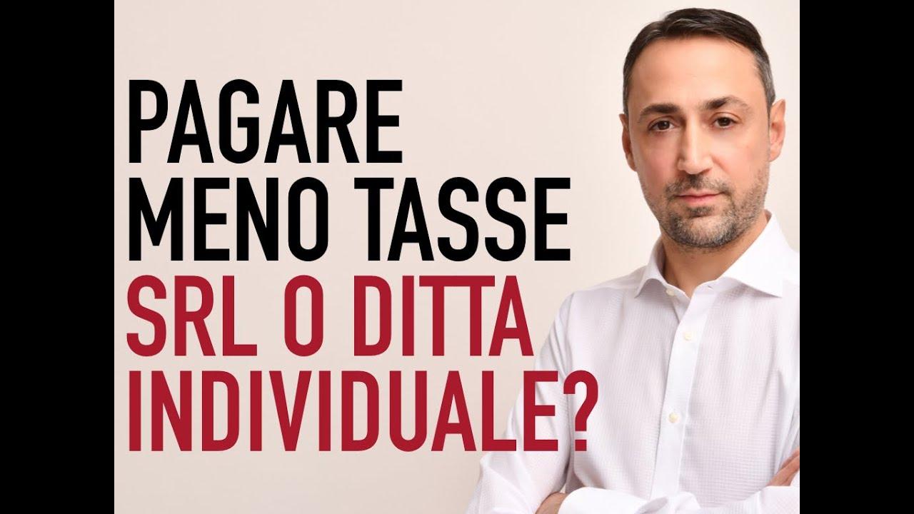 Download MEGLIO LA DITTA INDIVIDUALE O UNA SRL?
