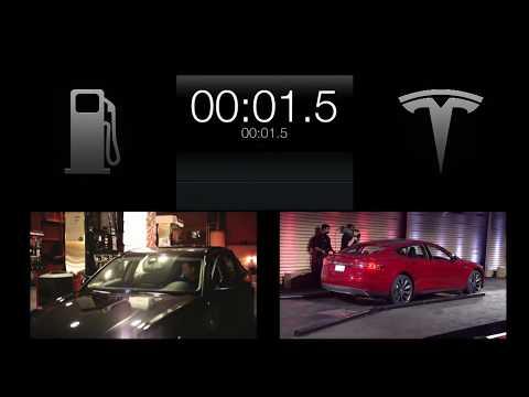 Tesla Model S Battery Swap Hd Official