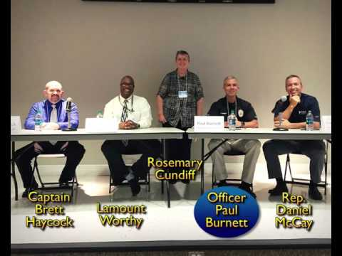 Discussion Panel: Body Cameras