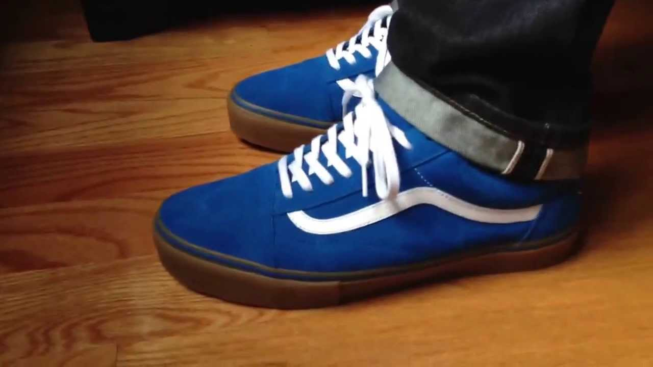 Golf Wang Vans Syndicate On Foot (Blue) - YouTube