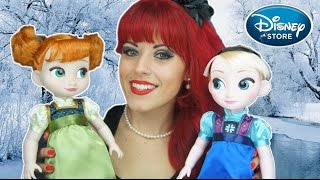 Disney Animators Collection Dolls Toddlers Frozen Elsa and Anna Doll Reviews