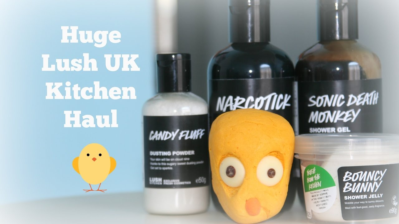 Huge Lush UK Kitchen Haul! - YouTube
