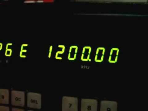 Radio WOAI San Antonio Texas  Am 1200 Khz  24-6-12 08UTC  Neuquen CAP