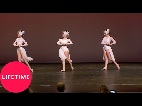 "Dance Moms: Full Dance: Brynn, Kalani and Kendall's ""Blackbirds"" Trio (S7, E5) 