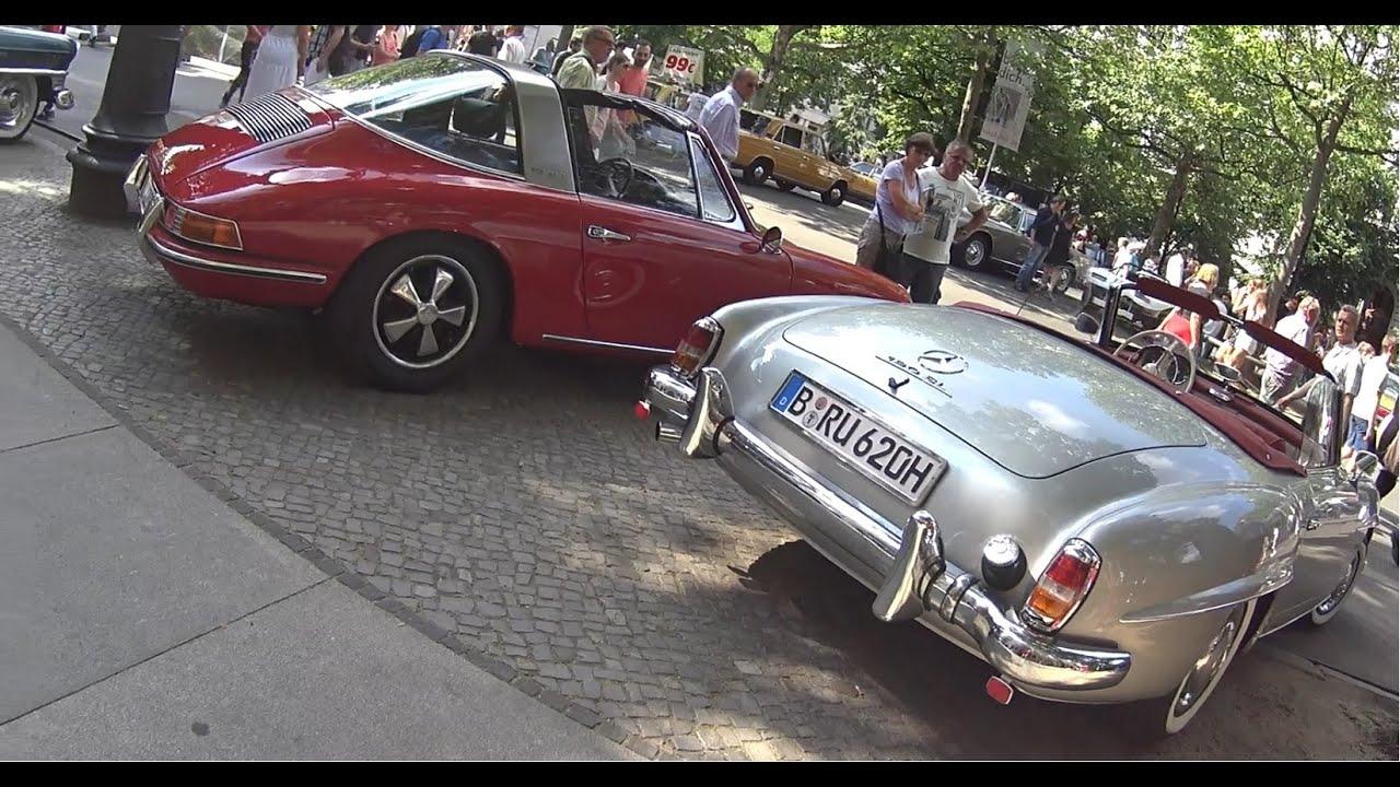 Oldtimer show berlin kurfürstendamm