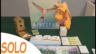 Wingspan - Solo Playthrough