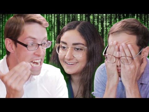 Thumbnail: The Try Guys Try Coding With Girls Who Code
