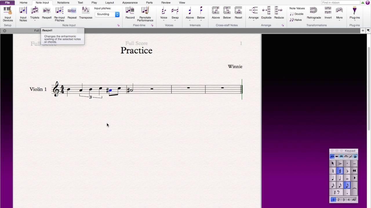 Sibelius 8: tutorial no. 7: triplets and tuplets youtube.