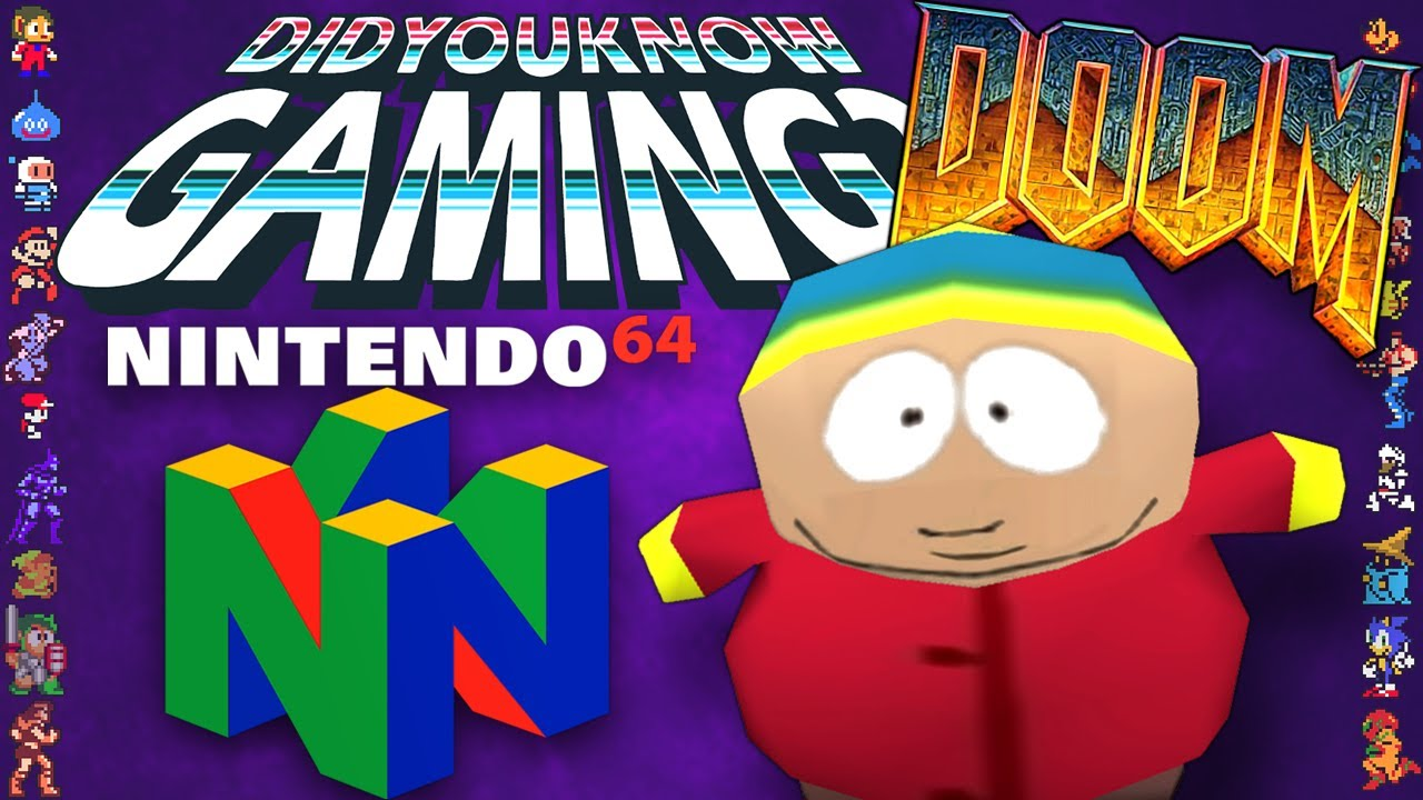 Every Cancelled N64 Game - Did You Know Gaming? Ft. Remix (South Park 2, Doom Absolution + more.)