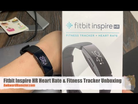 fitbit-inspire-hr-heart-rate-&-fitness-tracker-unboxing