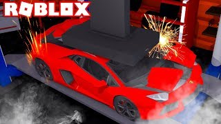 DISTYOUR YOUR MACCHINA for SOLDI on Roblox!! (Car Crushers 2 ITA)
