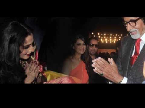 After 33 years, Amitabh Bachchan met Rekha with love