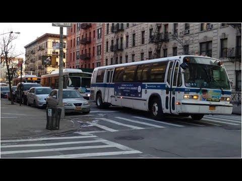 MTA: Bx3, Bx11, Bx13, Bx35, Bx36, M5 Bus Action @ Washington Heights