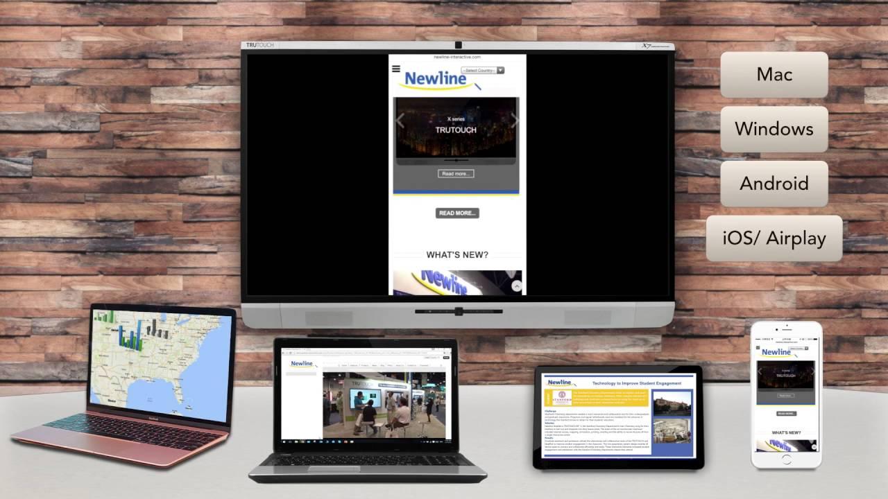 Trucast Newline S Wireless Presentation System Youtube