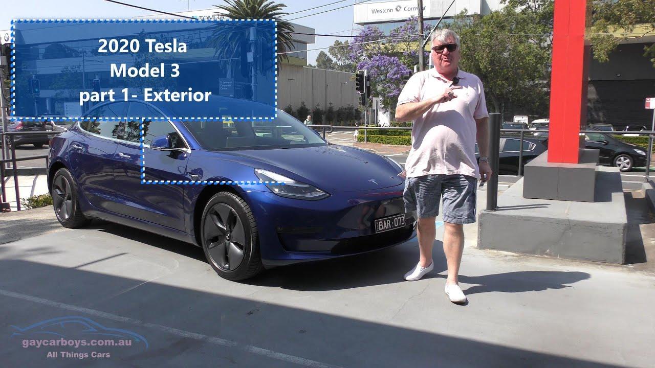 Part 1 2020 Tesla Model 3 Review exterior tour