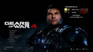 Gears of War 4 problem with game