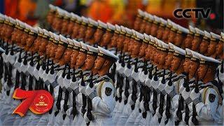 [中华人民共和国成立70周年]海军方队| CCTV