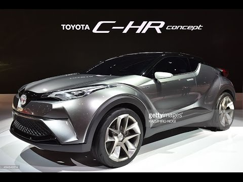 new toyota chr concept 2016 interior youtube. Black Bedroom Furniture Sets. Home Design Ideas