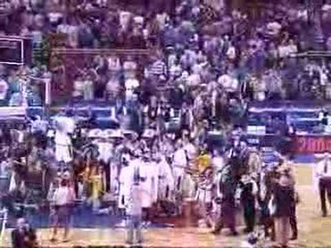 Georgia Tech, NCAA Basketball 2004, Cutting Down The Nets