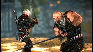 THE WITCHER 2 - Letho Final Boss Fight (Dark mode, best armor & weapon)