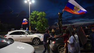 Jubel nach zweitem WM-Gruppen-Spiel Russlands