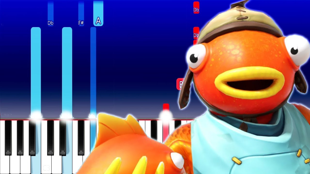 Tiko Fishy On Me Piano Tutorial Youtube