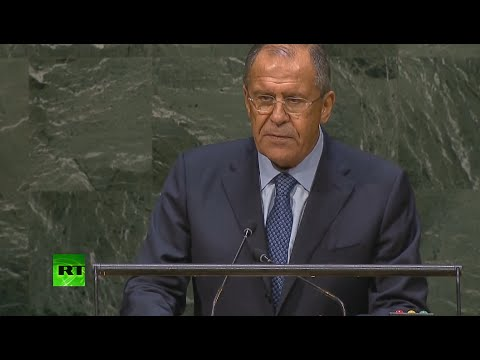 'West aims to vertically structure humanity' - Lavrov at UNGA 2014 (FULL SPEECH)