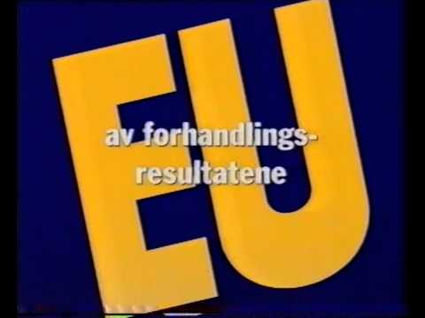 Utenriksdepartementet: Informasjom om EU på NRK (1994)