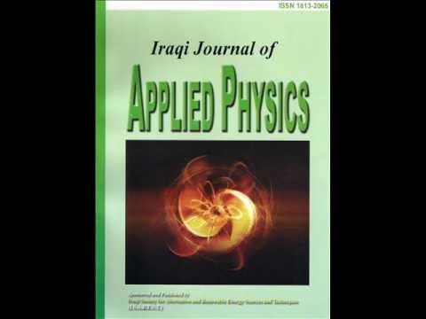 Iraqi Journal Of Applied Physics IJAP 2012