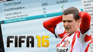 ADAM JOHNSON PLAYS FIFA 16 CAREER MODE!