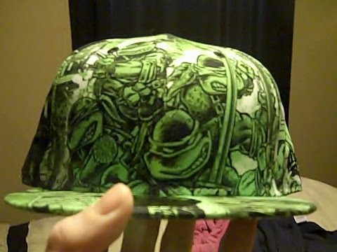 New Era Ninja Turtles Marvel Comics Hat Collection Youtube