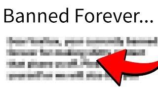 HOW I GOT PERMANENTLY BANNED FROM ROBLOX