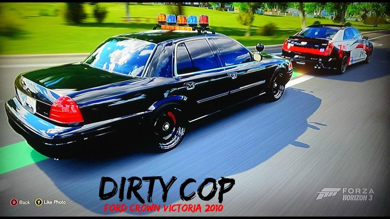 Forza horizon 3 crown victorian police car speed zone challenge