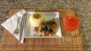 Chicken Marsala-how To Cook Chicken Marsala-how To Cook Garlic Mashed Potatoes American Comfort Food