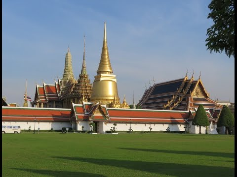 KING PALACE or BIG BANGKOK PALACE best and most famous Thailand Temple Asia Travel trip shopping