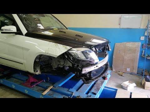 видео: Mercedes-Benz GLK.  Наборка. Сборка.